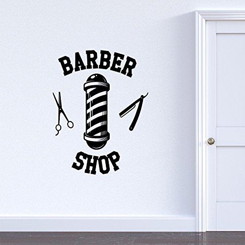 Vinyl Wall Art Decal - Barber Shop Sign - 30