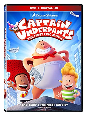 Captain Underpants: The First Epic Movie (DVDs & Videos)