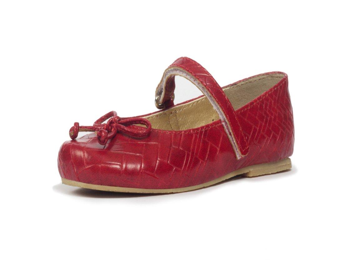 Subibaja Anita Mary Jane Narrow Flat Shoes for Baby Girls|Toddlers R8T