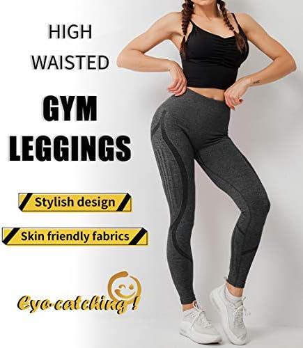SLIMBELLE Mallas Push up Mujer Leggings Deportivos 19