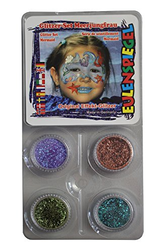Owl Mirror Glitter Set Mermaid]()