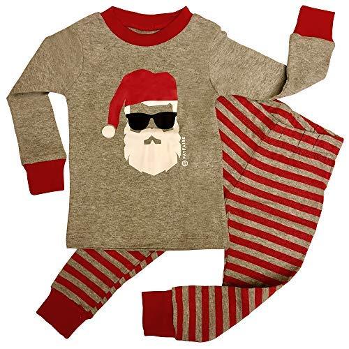 Fayfaire Christmas Pajamas Boutique Quality: Adorable Xmas Santa PJs 6-12M