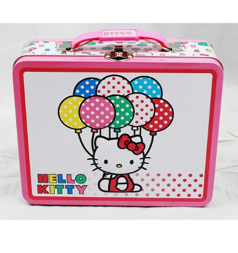 Hello Kitty Carry All Balloons Hello Kitty Tin Box
