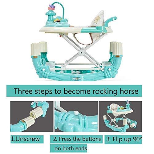 XBCOOK Andador para Bebé, Ajustable en Altura Andador, 3 en ...