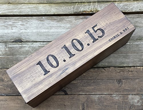Custom Wine Box, First Fight Box, Memory Box, wine box ceremony, wine box wedding, wedding gift, shower gift, anniversary gift, fifth anniversary gift