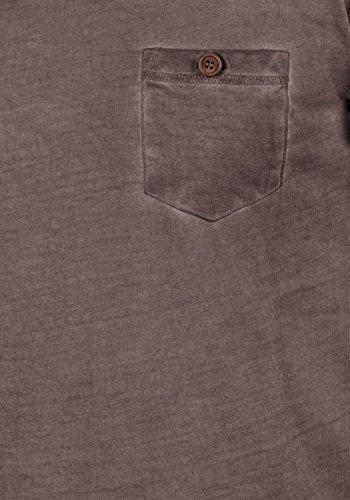 Manches 100 En shirt 5973 Chemise T Coton V Courtes Tinny Coffee Avec À Homme Bean Encolure Pour solid qwPIOn