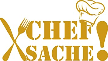 Grazdesign 620509 30 820 Wandtattoo Fur Kuche Wand Spruch Chef