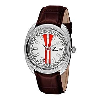 Zeigt Sport Yema Herren Weiß mit roten Streifen – ymhf1493 – Geschenk ideal