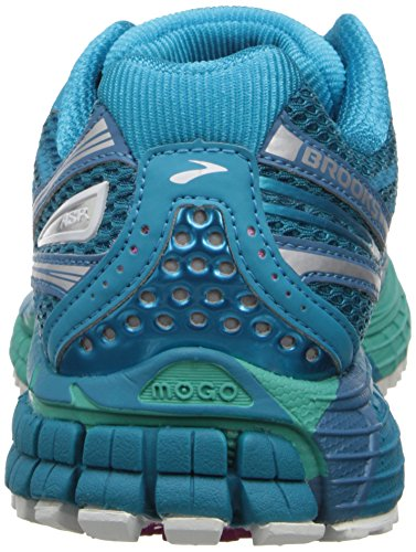 Brooks Adrenaline ASR 11 Women, Women's Running Shoes Caribbean Sea/Pool Green/Silver