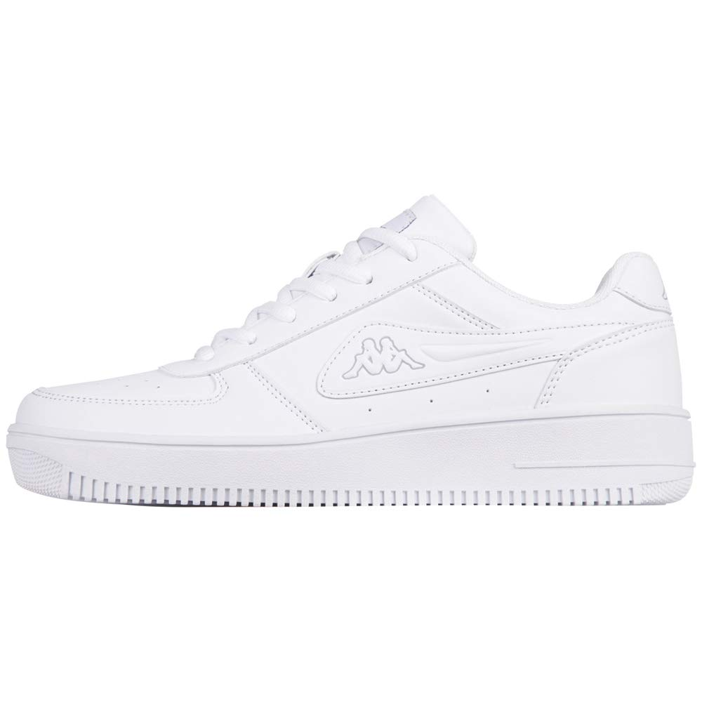 White (White L`grey 1014) Kappa Unisex Adults' Bash Low-Top Sneakers