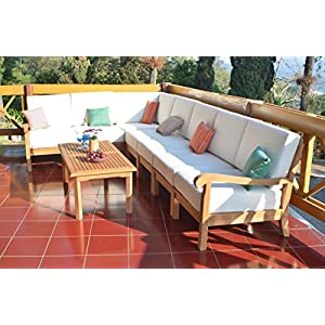 51-E89ukFAL._SS300_ Best Teak Patio Furniture Sets