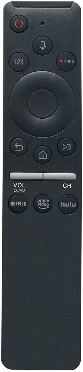 OEM Samsung BN59-01312G TV Remote Control with Bluetooth Netflix Prime Video Hulu Voice Command Button