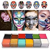 Face Body Paint IMAGIC Brand 12 Flash Colors case Halloween Party Fancy Dress Tattoo Oil Painting Art Beauty
