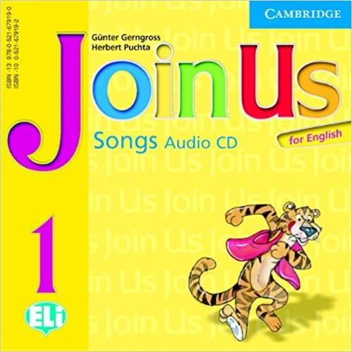 Book Join Us for English 1 Songs Audio CD (Join in)