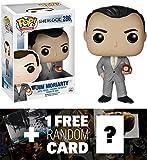 Jim Moriarty: Funko POP! x Sherlock Vinyl Figure + 1 FREE TV Themed Trading Card Bundle [60541]