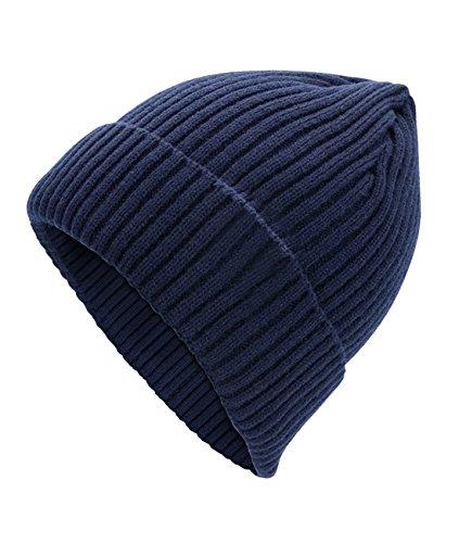 estilo y Gorro para lana invierno Azul urbano Cexin otoño de hombre xSqSwr81Y