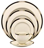 Cheap Lenox Hancock Fine China 5-Piece Place Setting, Service for 1