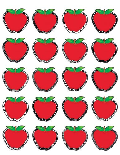 Teacher Created Resources Fancy Apples Stickers (5546)