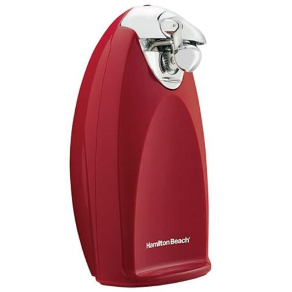 Hamilton Beach 76388R Ensemble Electric Can Opener, Tall, Red