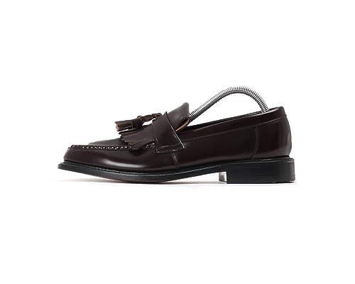 Loake - Mocasines de piel para hombre marrón marrón: Amazon.es: Zapatos y complementos