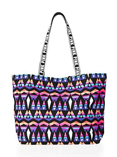 VICTORIA'S Secret PINK Beach Tote Bag -Multi Color