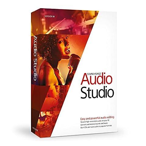 Sound Forge Audio Studio 10 (Magix Studio Software)