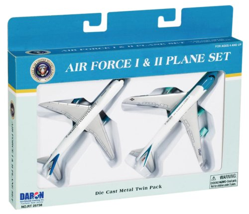 1 Plane (Air Force One 2 Plane set Air Force One and Air Force Two)
