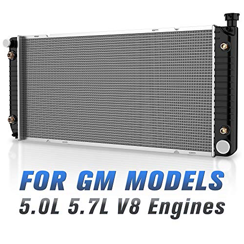 Engine K1500 Suburban - Radiator for Chevy GMC Suburban Yukon Tahoe Pickup Escalade C1500 C2500 C3500 K1500 K2500 K3500 5.0L 5.7L V8