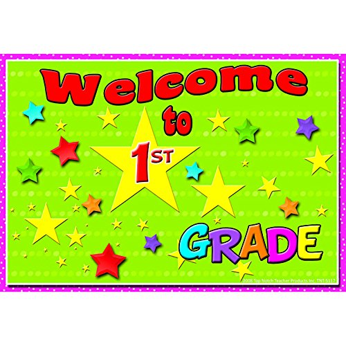 Welcome to 1st Grade Postcard by Top Notch Teacher Products