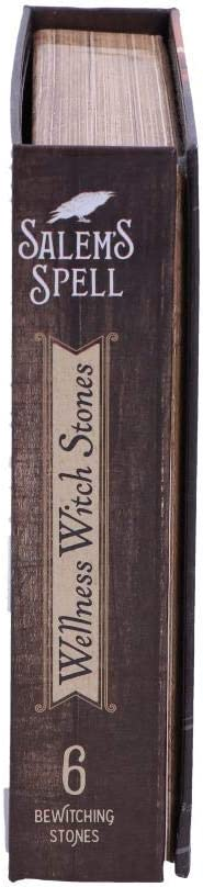 Salems Spell Kit Set of Six Witches Wellness Stones in Decorated Box