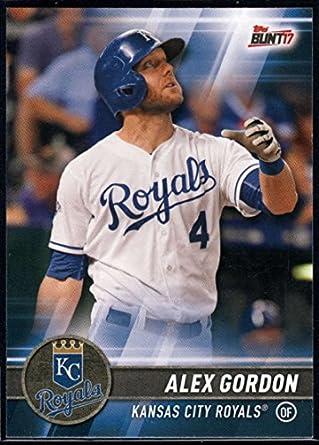 Amazoncom 2017 Topps Bunt 141 Alex Gordon Kansas City