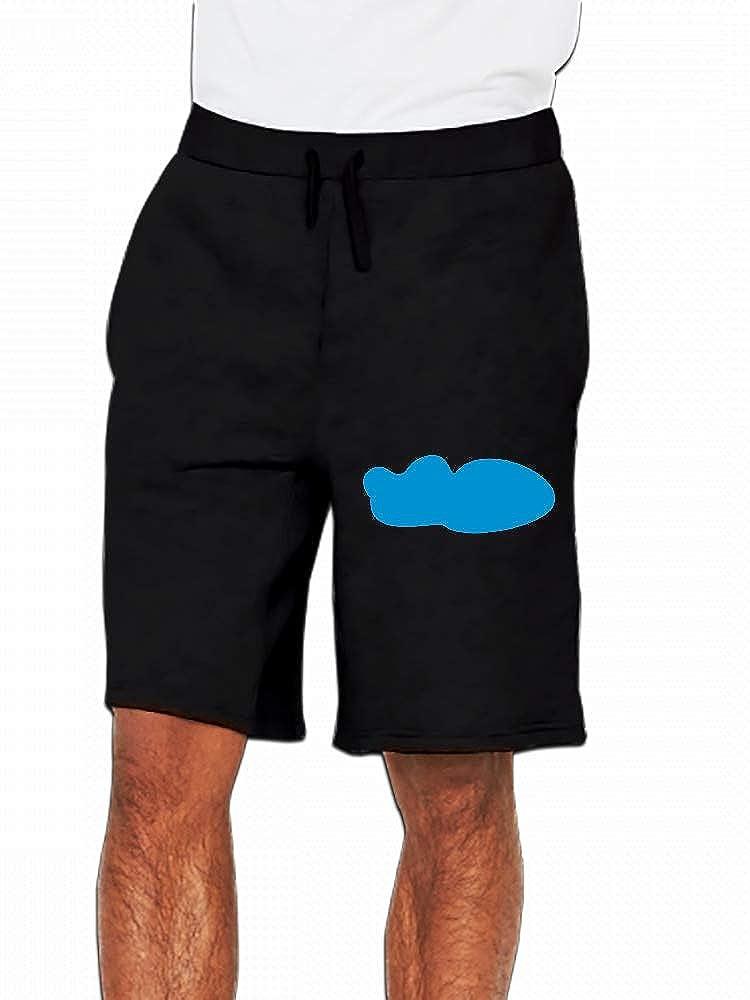 Clean Cloud Nature Mens Casual Shorts Pants