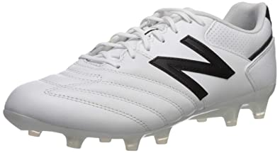 9b3b0d18a950a New Balance Men's 442 Team V1 Classic Soccer Shoe, White/Black, ...