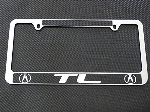 acura-tl-license-plate-frame-chrome-metalcarbon-fiber-details