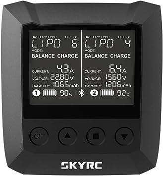 CatcherMy SKYRC B6 Nano 320W NiMH//NiCd scaricatore Bluetooth per Batteria 1-15S