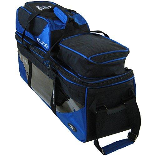 Elite SE Triple Tote Plus Royal Blue Bowling Bag by Elite Bowling