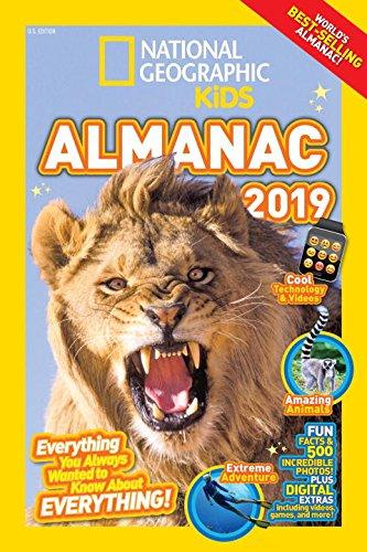 National Geographic Kids Almanac 2019  National Geographic Almanacs