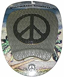 Paradise Coaltion PAZ Surfboard Traction Pad - BLK/GREY