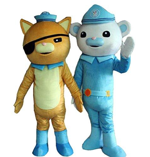 Kwazii Octonauts Costume (Octonauts Mascot Costume Octonauts kwazii Costume Large)
