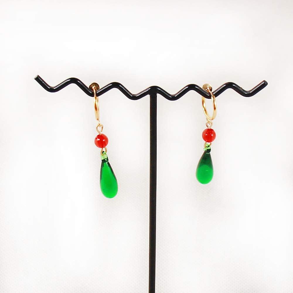 Handmade Howl/'s Moving Castle Hauru Necklace Pendant Earring Set Cosplay Jewelry