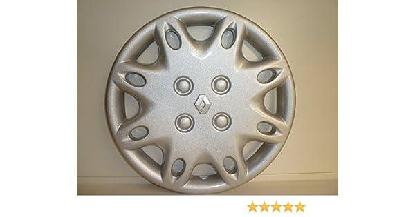 Juego de 4 tapacubos Renault Clio (Serie I) desde 1999, r13 o r14: Amazon.es: Coche y moto