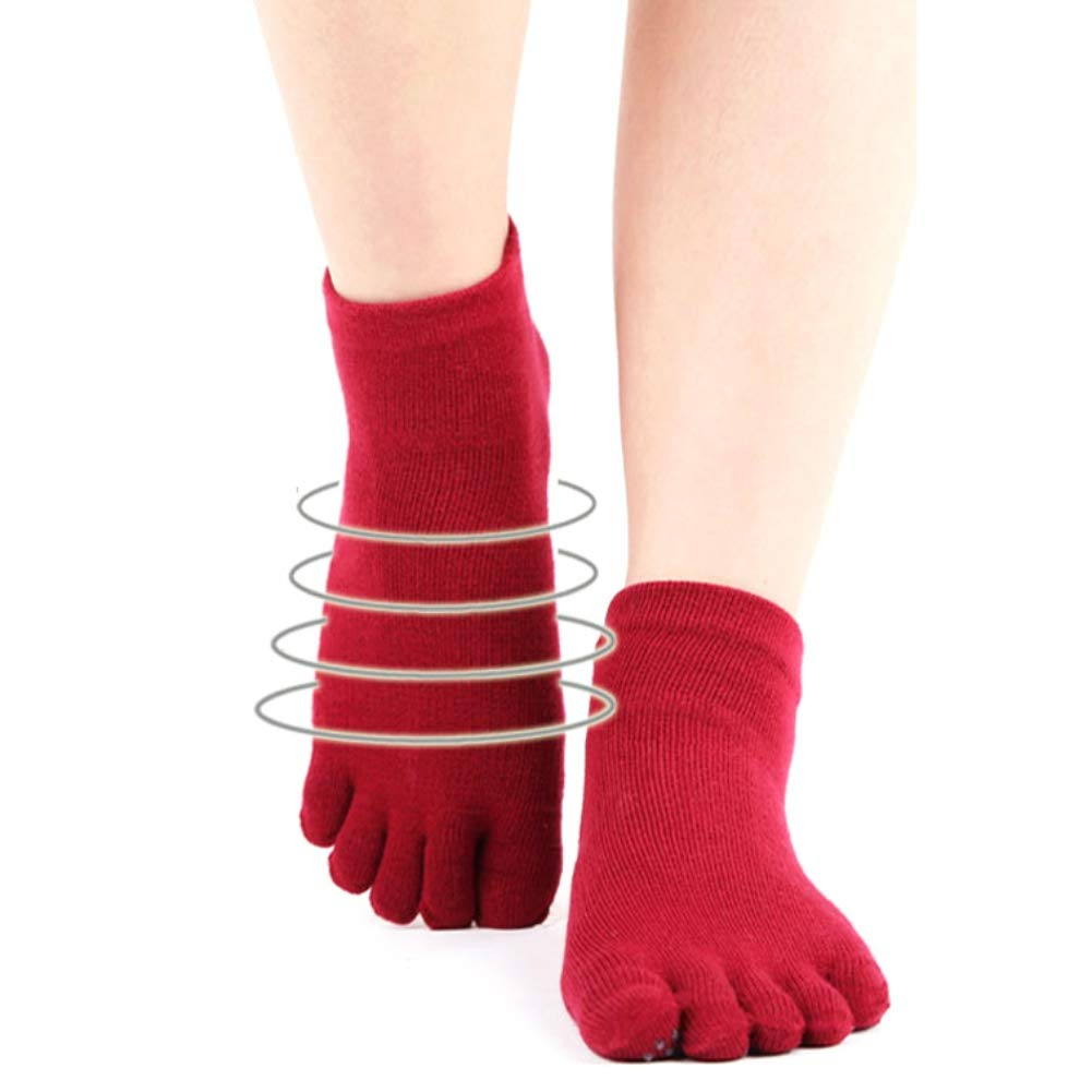 entrenamiento descalzo ballet Blaward Conjunto de guantes y calcetines antideslizantes de yoga barra pura calcetines y guantes con agarre completo y transpirable danza ideales para pilates