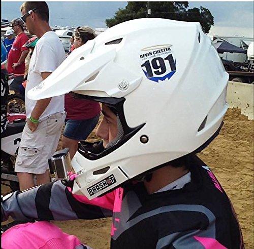 PROSHOT Helmet cam mounting System (White)