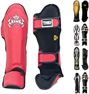 Top King Shin Guard Protector Empower Creativity Superstar Color Black White Size S M L XL for Protection in M