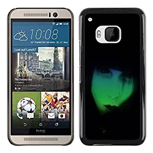 Be Good Phone Accessory // Dura Cáscara cubierta Protectora Caso Carcasa Funda de Protección para HTC One M9 // Neon Goth