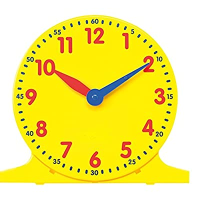 Didax Educational Resources 12-Inch Classroom Demonstration Clock, Multi-Colored: Arts, Crafts & Sewing