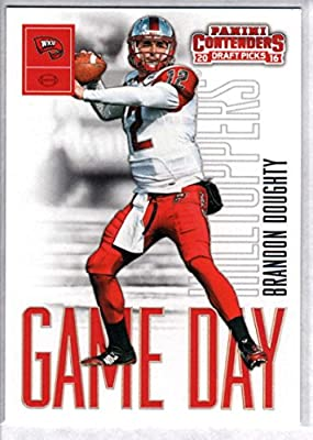 2016 Contenders Draft Picks Game Day Tickets Football #33 Brandon Doughty Western Kentucky Hilltoppers Official NCAA Rookie Card made by Panini