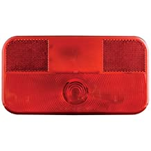 Optronics (RV-ST50P) Stop/Turn/Tail Light with White Base
