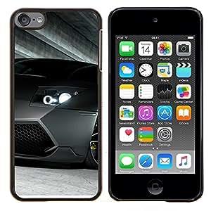 EJOOY---Cubierta de la caja de protección para la piel dura ** Apple iPod Touch 6 6th Touch6 ** --Coche de carreras