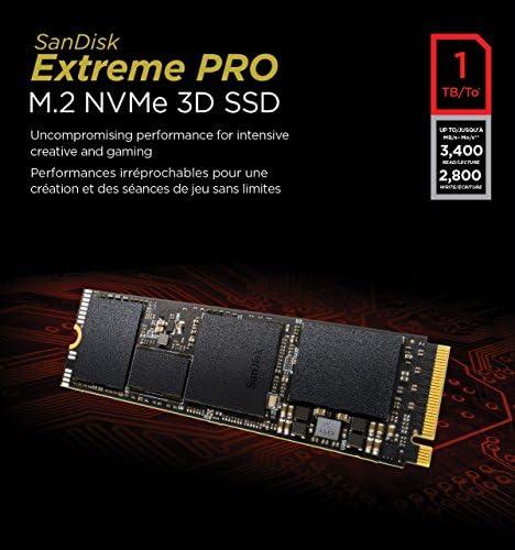 SanDisk Extreme Pro 1 TB M.2 NVMe 3D SSD: Sandisk: Amazon.es ...